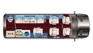 Sprinter Executive Class Rentals Floorplan