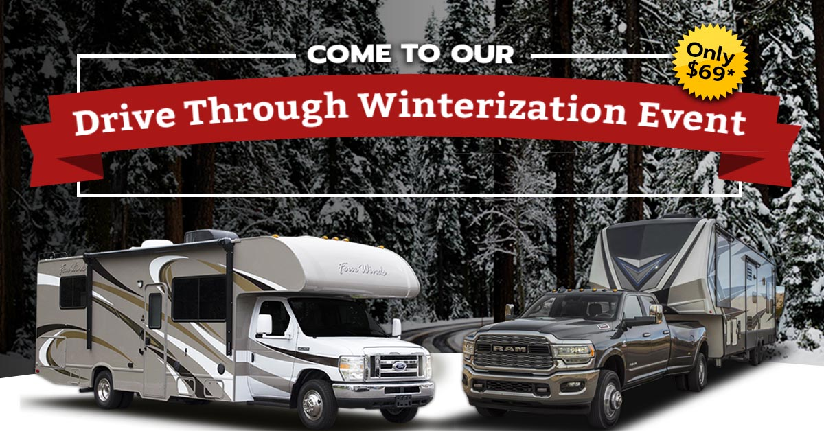 Drive Through Winterization Event