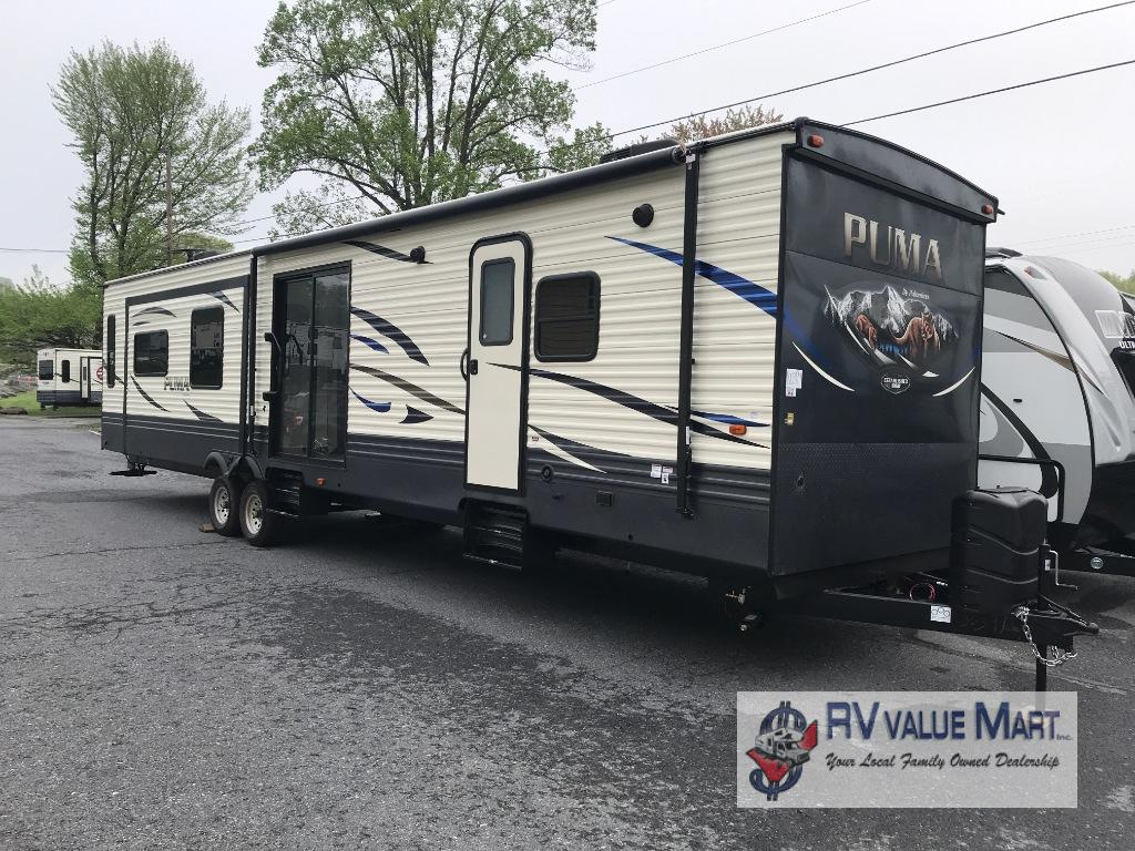 Tremendous New 2020 Palomino Puma 38Rlb Travel Trailer At Rv Value Mart Download Free Architecture Designs Grimeyleaguecom
