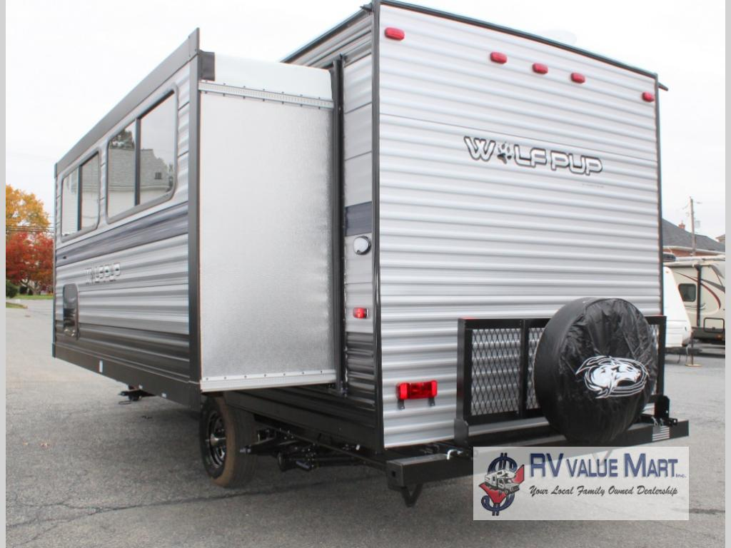New 2020 Forest River RV WOLF PUP 18TO Travel Trailer at RV