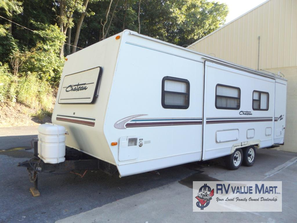 Used 2000 Thor Chateau 27j Travel Trailer At Rv Value Mart