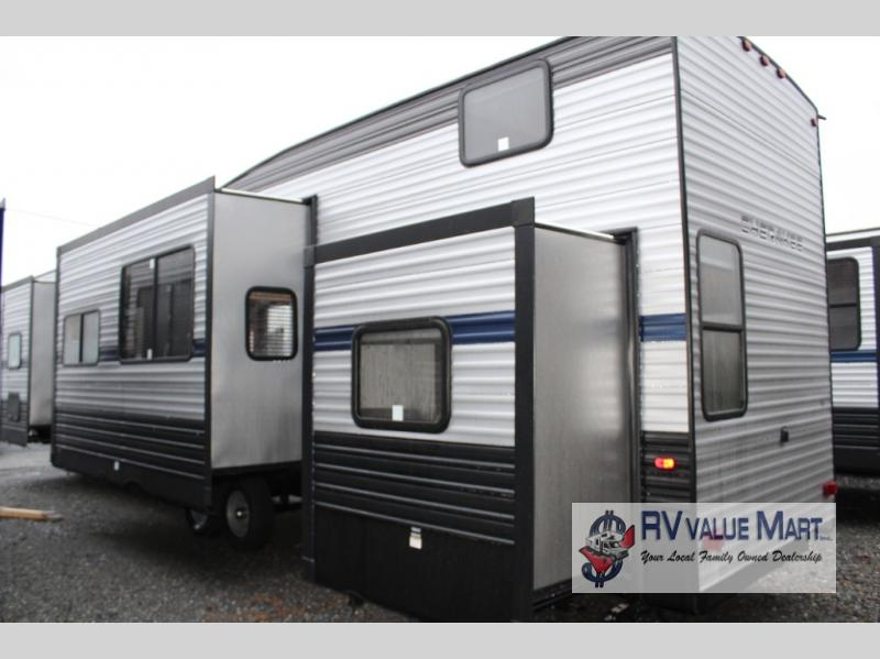 New 2020 Forest River RV Cherokee 39CA Park Models Mobile Home Axle Kes on
