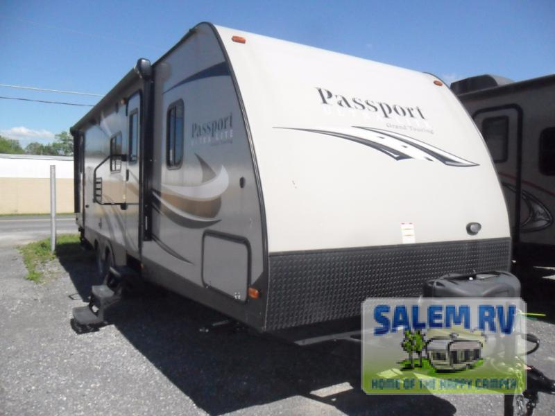 Used 2016 Keystone RV Passport 2810BH Grand Touring Travel