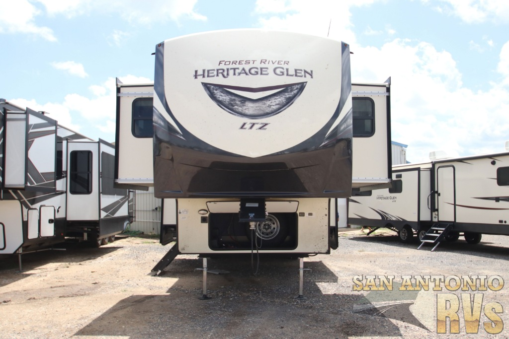 New 2020 FOREST RIVER HERITAGE GLEN 378FL Travel Trailer at