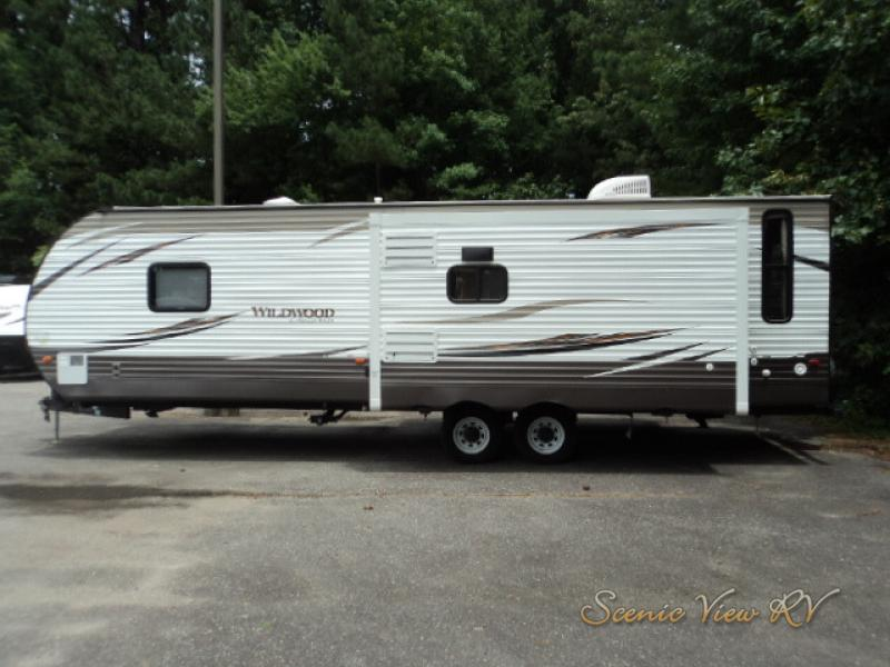 Used 2017 Forest River Rv Wildwood 27rei Travel Trailer At