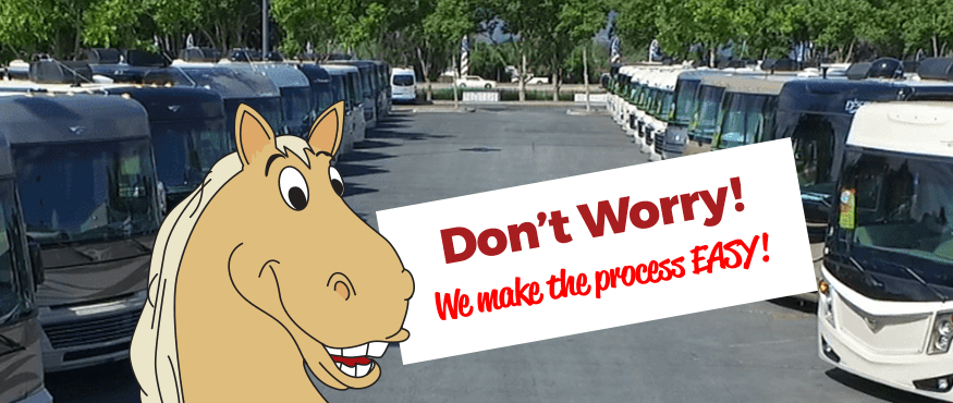 Don't worry! We make the process easy!