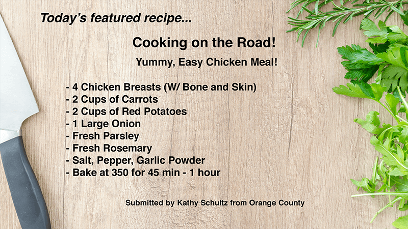 Today's Featured Recipe