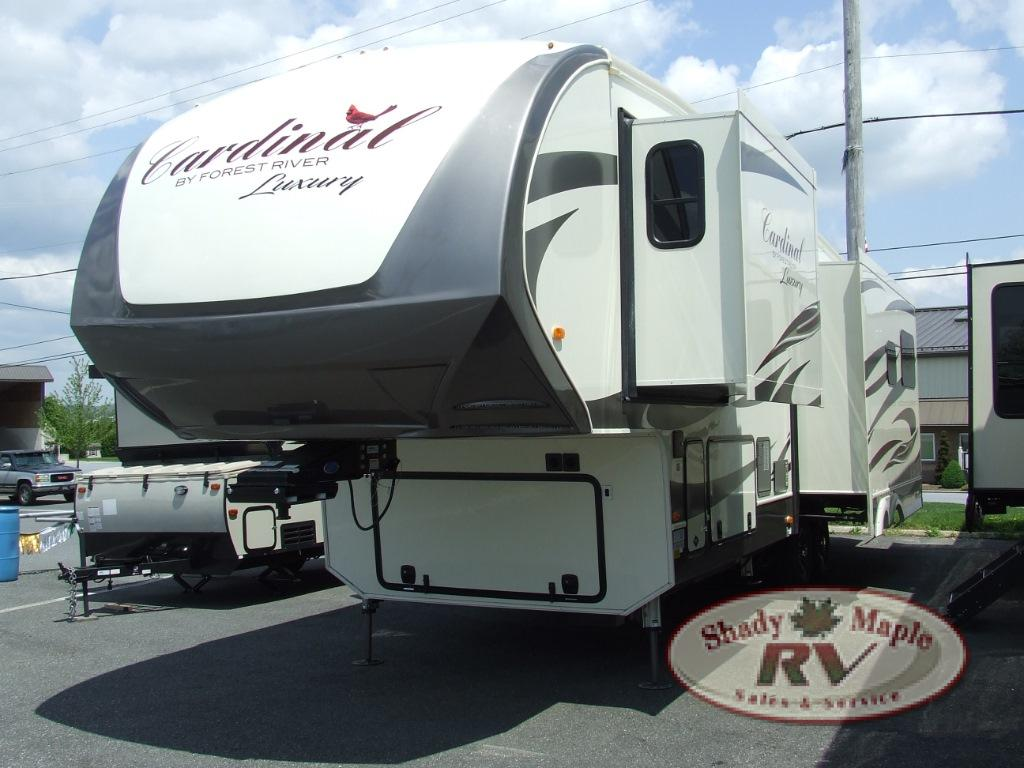 New 2019 Forest River Rv Cardinal Luxury 3350rlx Fifth