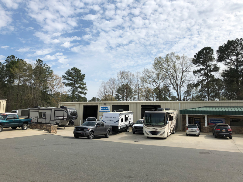 Shaw RV Service Department