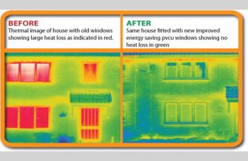"Low ""E"" Thermal Pane windows in every home we buil"