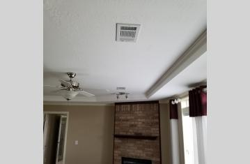 Vents in the ceiling