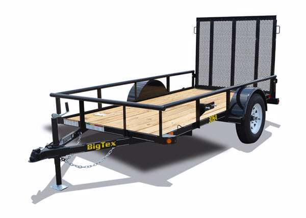 new 2015 big tex trailers single axle 30sa 35sa utility. Black Bedroom Furniture Sets. Home Design Ideas