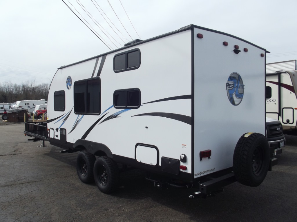 New 2018 Palomino Real Lite Mini 177 Orv Travel Trailer At