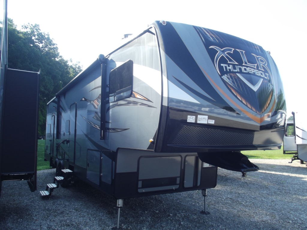 New 2018 Forest River Rv Xlr Thunderbolt 340amp Toy Hauler
