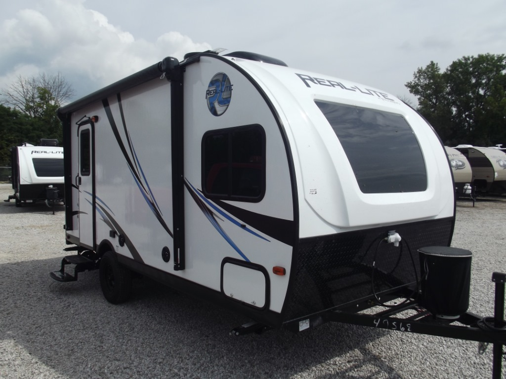 New 2018 Palomino Real Lite Mini 178 Travel Trailer At