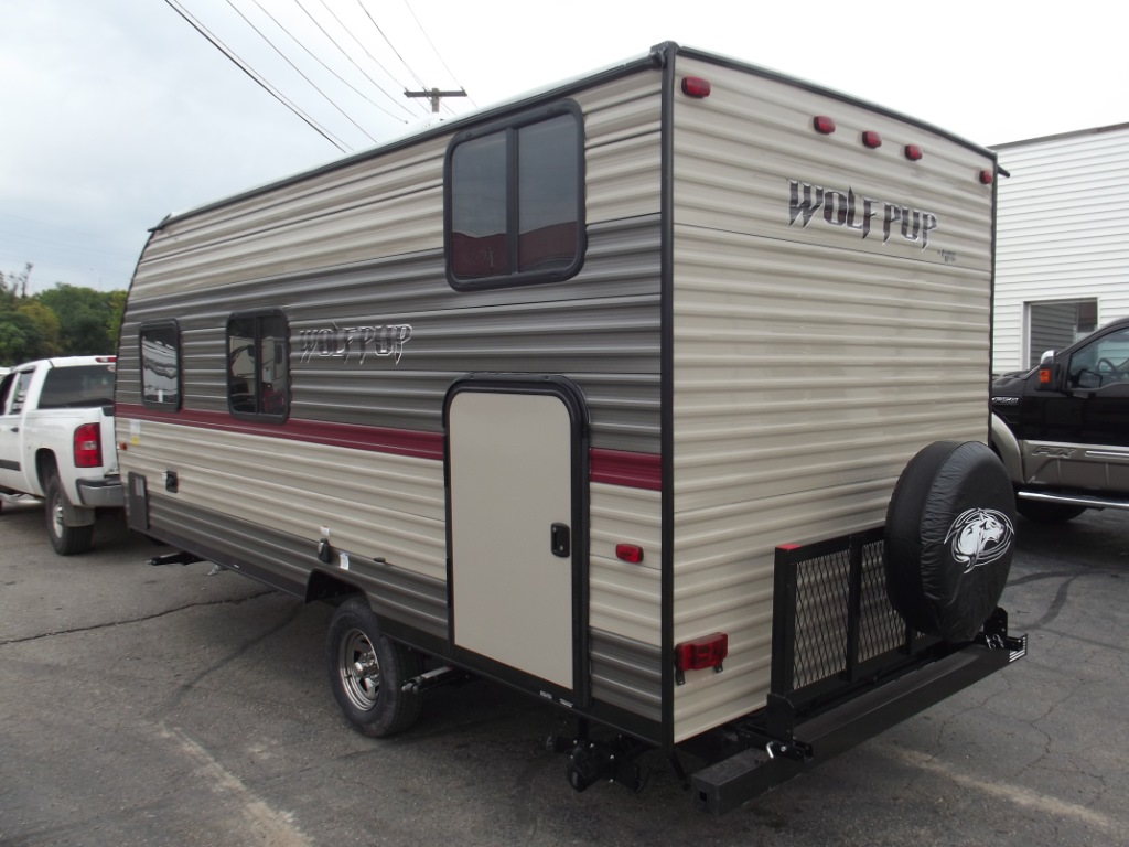 New 2018 Forest River Rv Cherokee Wolf Pup 16bhs Travel