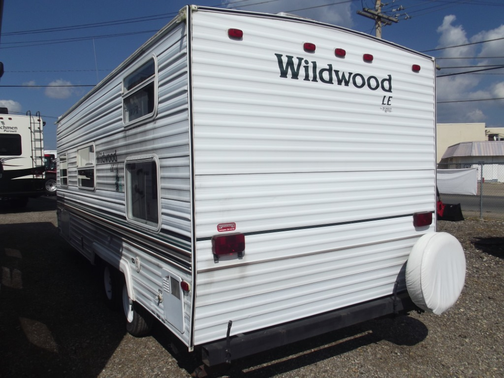 Used 2002 Forest River RV Wildwood 23 BH Travel Trailer at
