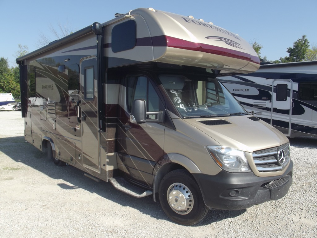 New 2018 Forest River Rv Forester Mbs 2401r Motor Home