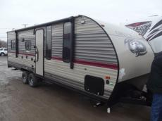 New 2018 Forest River RV Cherokee Grey Wolf 22RR Photo