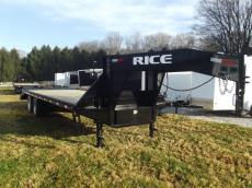 New 2018 Rice Trailers RICE GOOSENECK DOG22205 Photo
