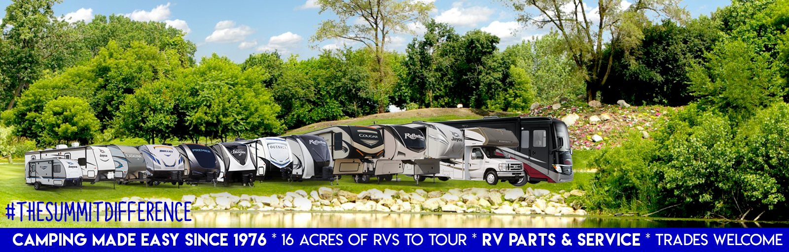 Summit RV Spring Selection