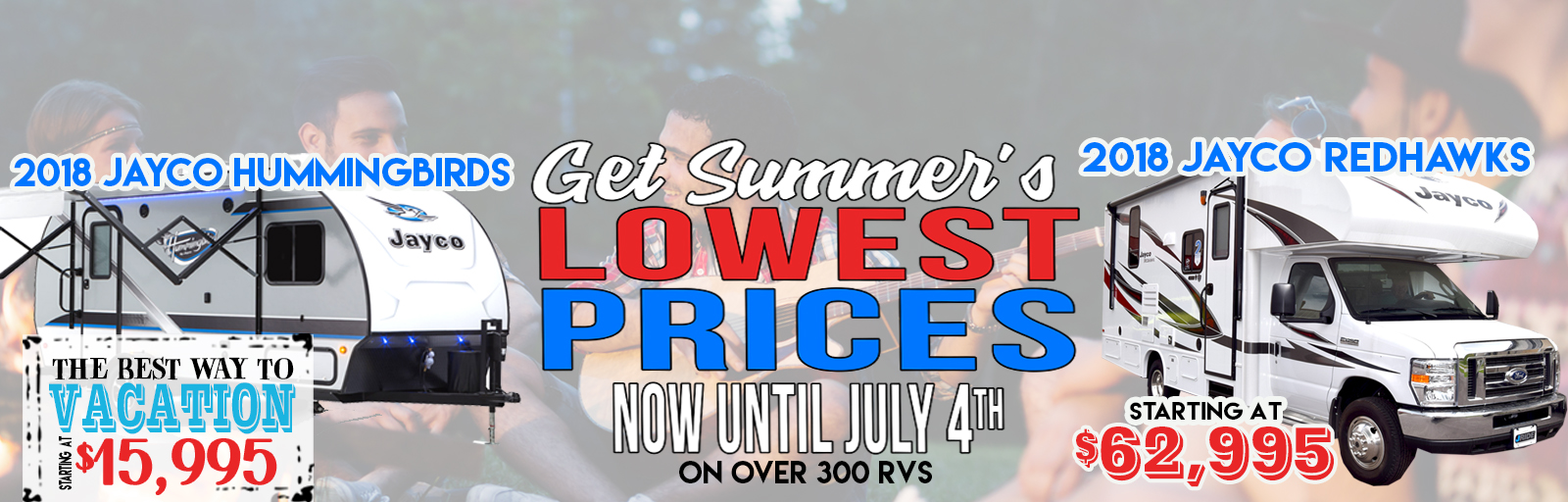 Summer's Lowest Prices
