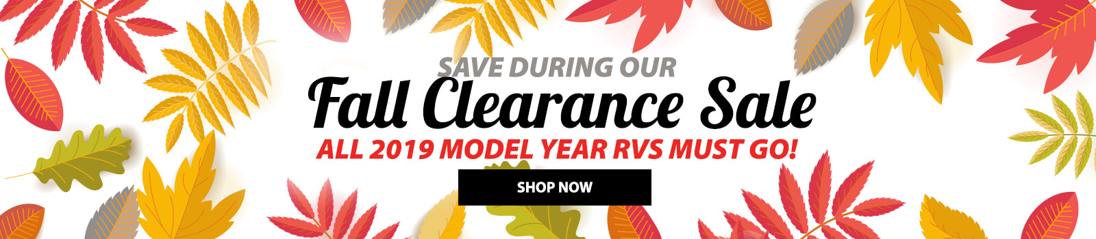 Fall Clearance Event