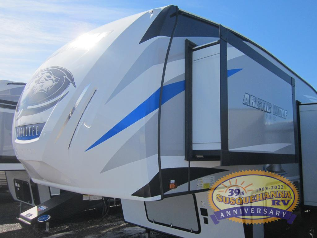 New 2019 Forest River Rv Cherokee Arctic Wolf 285drl4 Fifth Wheel At