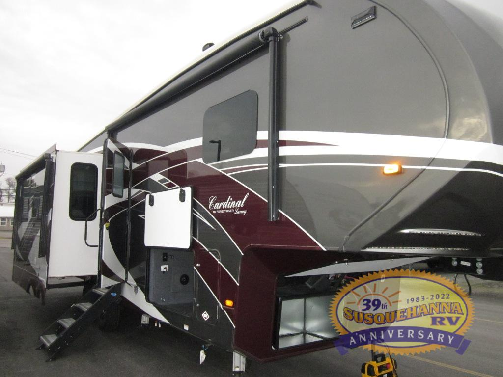 New 2020 Forest River Rv Cardinal Luxury 3350rlx Fifth