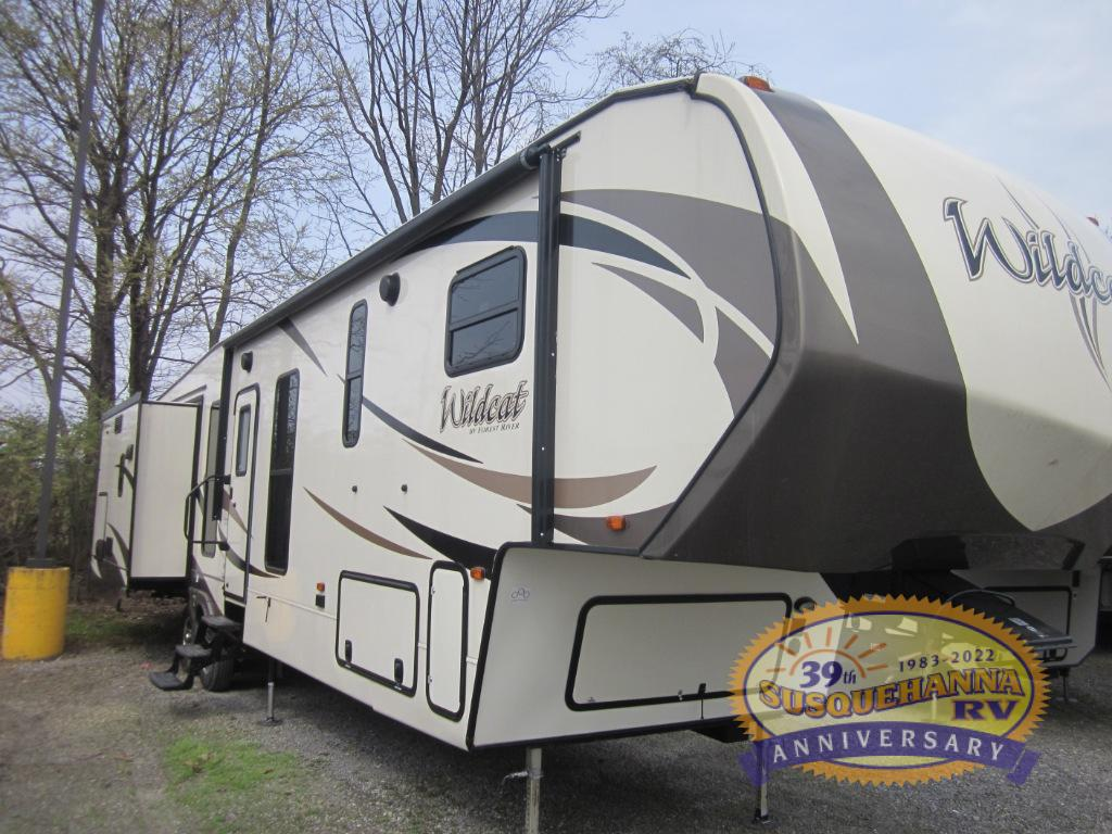 Stupendous Used 2017 Forest River Rv Wildcat 38Mbx Fifth Wheel At Interior Design Ideas Gentotryabchikinfo