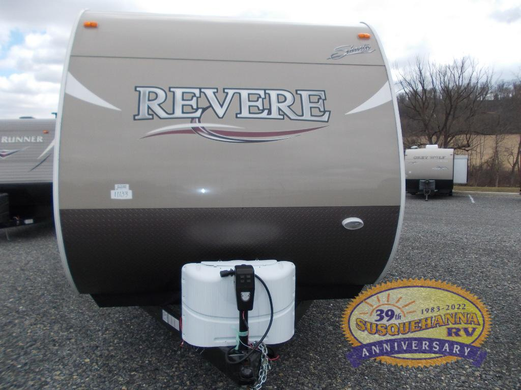 New 2018 Shasta RVs Revere 27BH Travel Trailer at