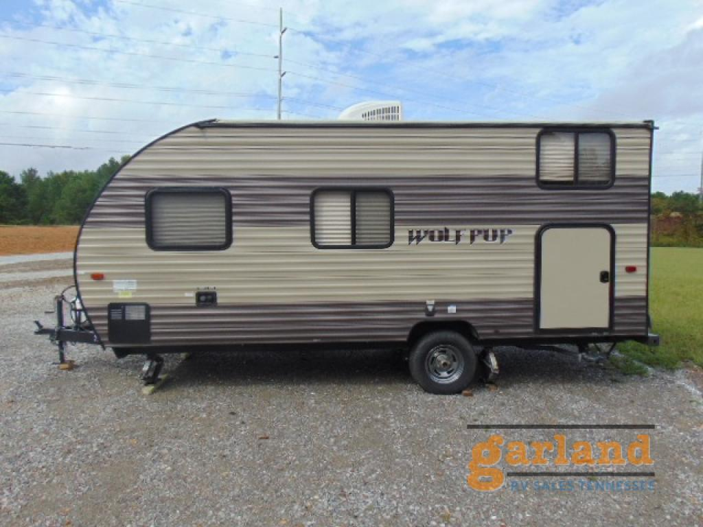 Used 2018 Forest River Rv Cherokee Wolf Pup 16bhs Travel