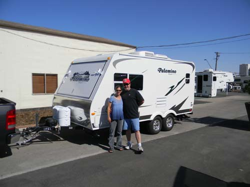 OUT OF THE 5th WHEEL AND INTO THE CAMPER!