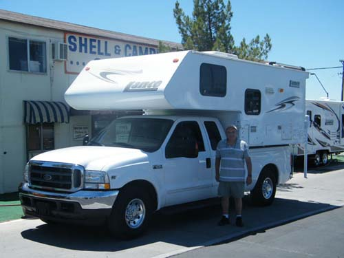 Camper headed to New Mexico