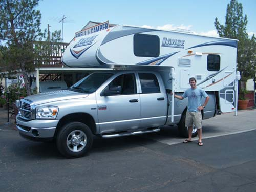 2011 FORD SUPER DUTY DUALLY and LANCE 1191