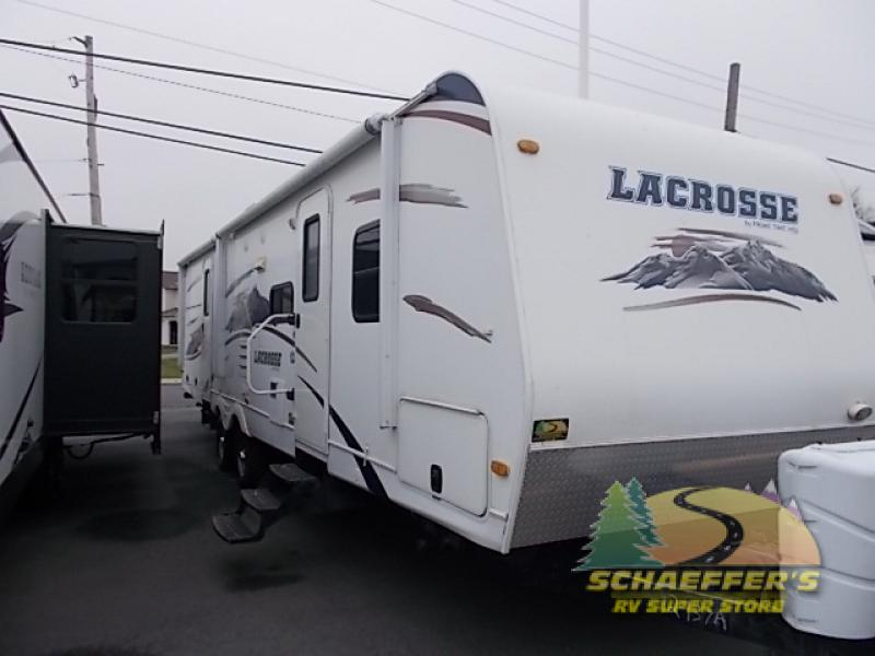 Used 2011 Prime Time Rv Lacrosse 318bhs Travel Trailer At