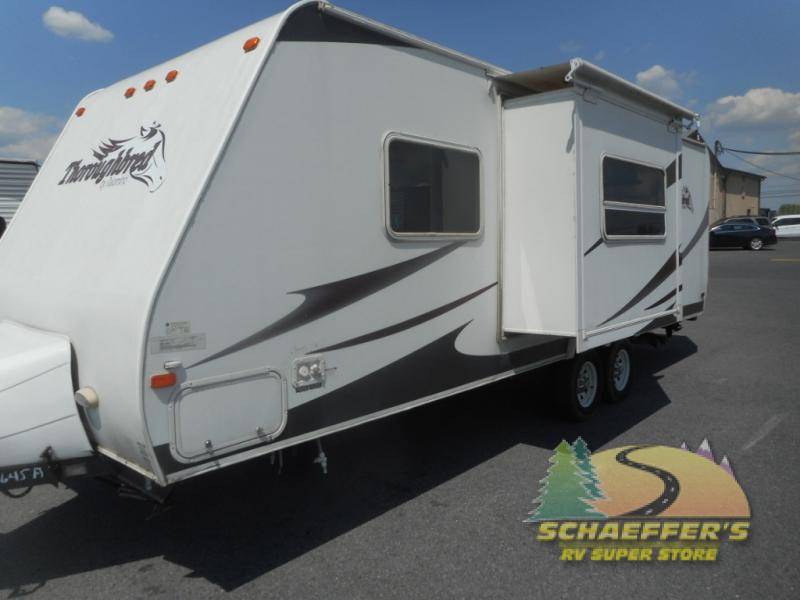 Used 2007 Palomino Thoroughbred 25fbsl Travel Trailer At