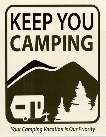 Keeping You Camping