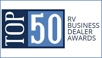 RV Buisiness Top 50 Dealer Award