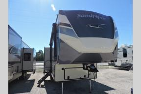New 2021 Forest River RV Sandpiper C-Class 3440BH Photo