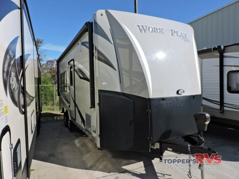 Used 2016 Forest River RV Work and Play 18EC Toy Hauler Travel Trailer -  JUST ARRIVED