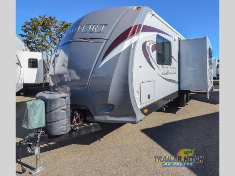 Used 2017 Dutchmen Rv Komfort 2410rk Travel Trailer At Hitch Nipomo Ca T4537
