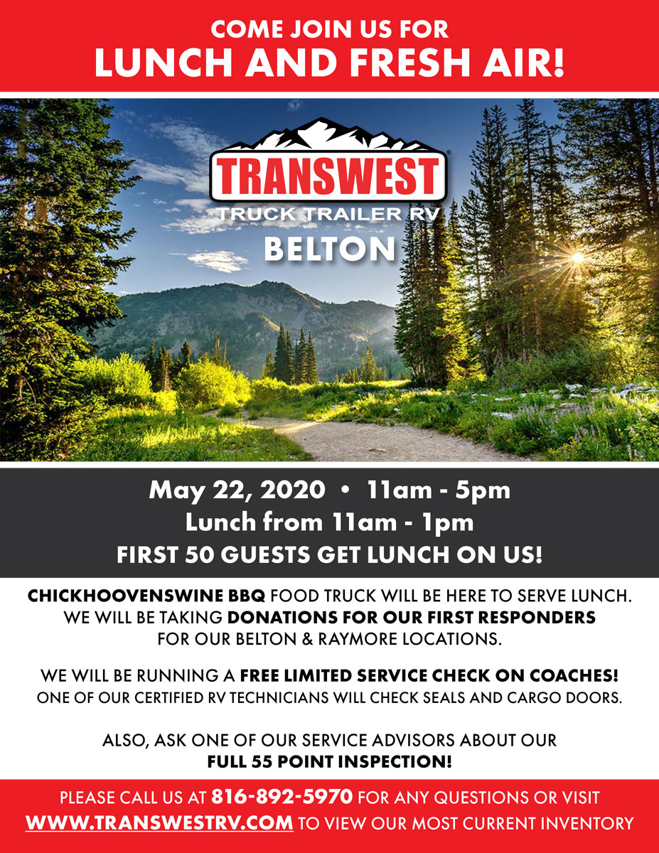 Join Us for the Transwest Truck Trailer & RV Lunch and Fresh Air