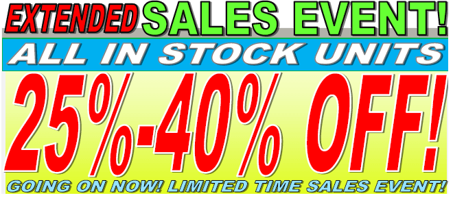 RV Sales Event 25%-40% Off In Stock RVs For Sale
