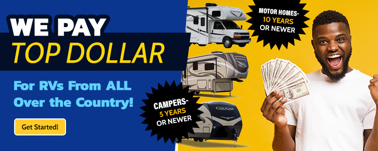 Sell Your RV Banner
