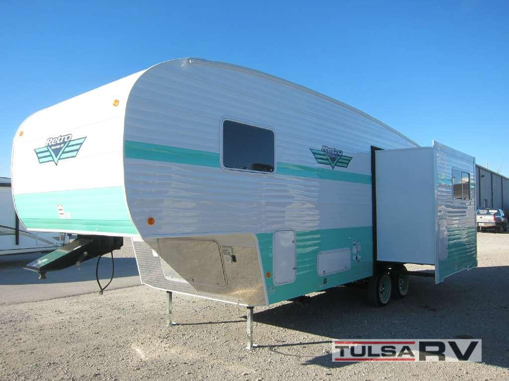 Used 2017 Riverside Rv Retro 526rl Fifth Wheel At Tulsa Rv