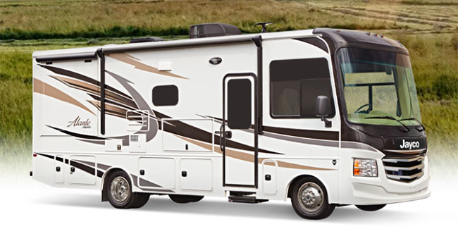 The Alante - Jayco Class A Motorhomes for Sale