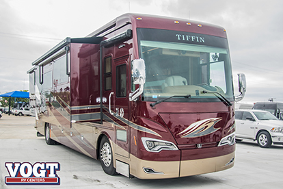 New Diesel Pushers from Vogt RV in TX