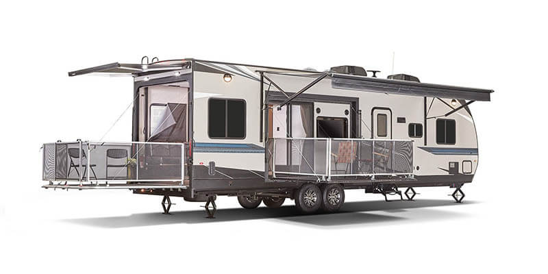 Jayco Octane Toy Hauler Travel Trailer