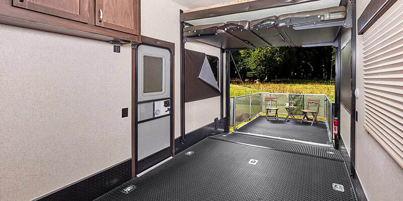 Jayco Embark Outdoor TV